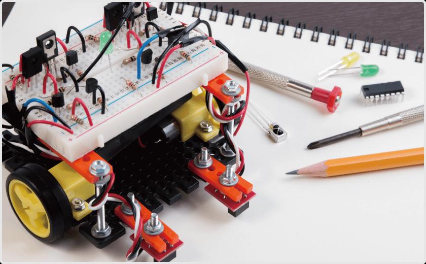 ロボット工作イメージ